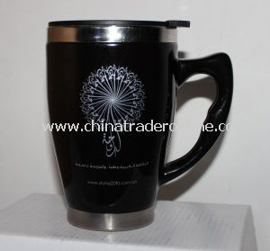 Stainless Steel Vacuum Mug with Ceramic Shell