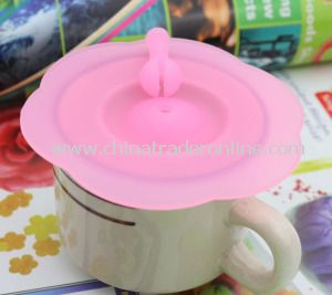 2014 Custom Flower Shaped Cup Cover