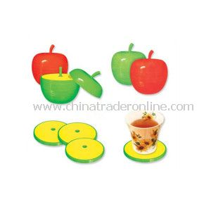 Promotional Cup Pad with Apple Design as