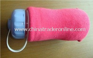 Cotton/Polyester Knitted Cup Cover for Winter