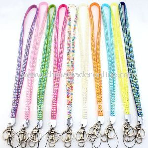 Promotional Lanyard with Wide Design, Stylish, Beautiful and Cheap, OEM Orders Are Welcome