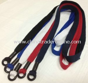 Tubular Knitted Cotton Lanyard