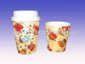 12oz Hot Sale! Hot Drinking Ripple Paper Cup from China