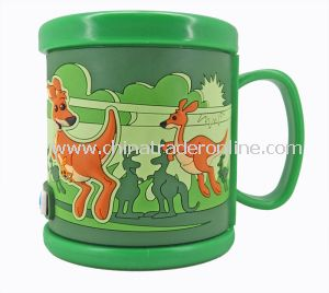 3D Custom Cartoon Plastic Drinking Cup