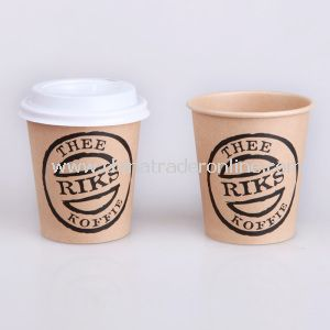 6oz Kraft Paper Cup, Disposable Paper Cup