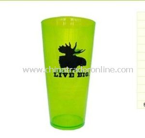 High-Capacity PS Plastic Drinking Cup for Promotion
