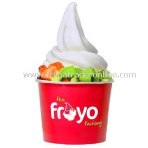 8oz Food Grade Disposable Paper Yogurt Cups