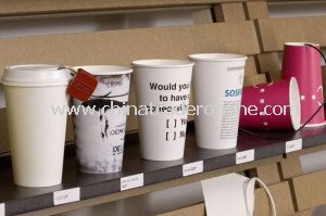 Disposable Logo Printed Drinking Paper Cup