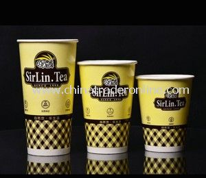 Disposable Paper Cup / Paper Coffee Cup from China