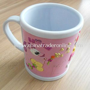 2014 Cheap Promotional Water Cup with Custom 3D Logo