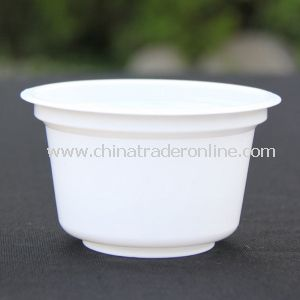 250ml White PP Yogurt Cup