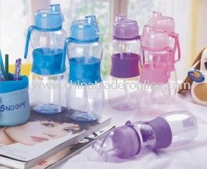 400ml Plastic Water Drinking Cup, Sports Bottle, Drinking Cup