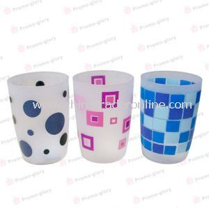 Dull Polished Colorful Water Cup