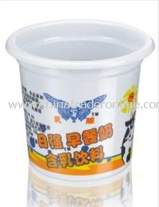 PP Plastic Packaging Cup Yogurt Cups