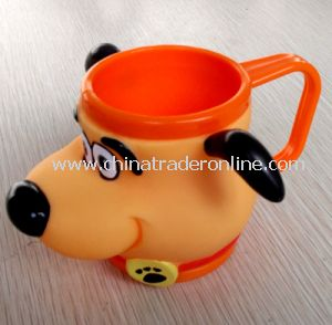 Cartoon Plastic SGS Ice Cream Cup