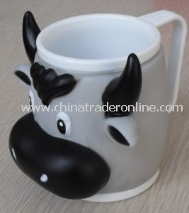 IC014 Cartoon Plastic Ice Cream Cup