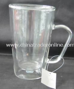 Double Wall Glass Cup for Beer