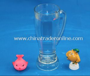 Transparent and High Quality Plastic Beer Cup
