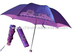 Folding Umbrella, Many Colors Custom Umbrella OEM Orders Are Available