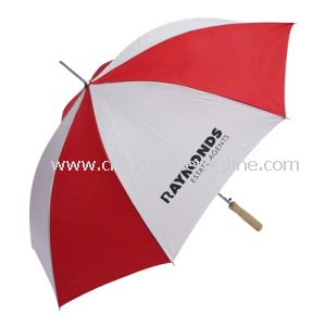 Red White Color Custom Design Umbrella