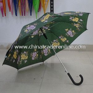 23 Inches Flower Print Cheap Wholesale Umbrella
