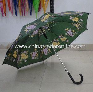 23 Inches Flower Print Cheap Wholesale Umbrella