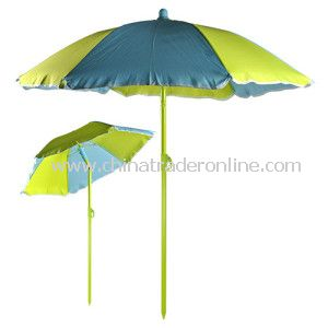 Colorful Oxford Fabric Beach Umbrellas with Sun Protection, Customized Designs Available