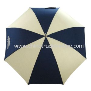 Dripless Windproof Fiberglass Sun Straight Golf Umbrella
