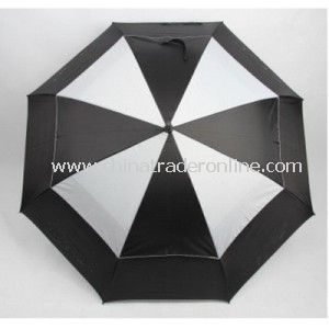 Golf Automatic Double Layers Umbrella, Golf Sun Umbrella,  Sports Umbreall