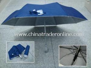 3 Folding Non-Automatic Parasol Umbrellas