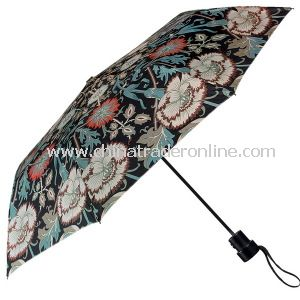 Fashion Creative Lady Printing Parasol Folding Gift Umbrella