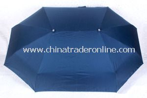 Superlight Aluminum Windproof Patio Folding Couple Umbrella from China