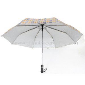 Three Fold Auto Open and Close Umbrella
