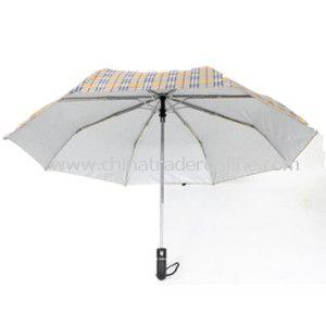 Three Fold Auto Open and Close Umbrella from China