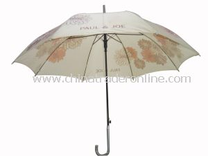 Auto Open Printed Design Good Qualtiy Straight Umbrella