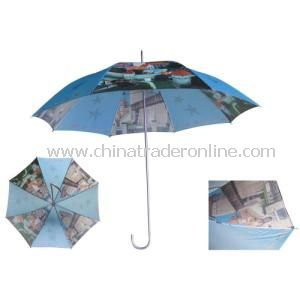 Heat Transfer Printing Straight Umbrella