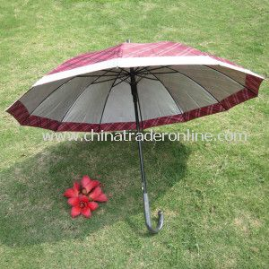 Join Panel Straight Umbrella with UV Protection and 12ribs