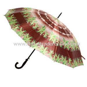 Outside Tropical Straight Umbrella