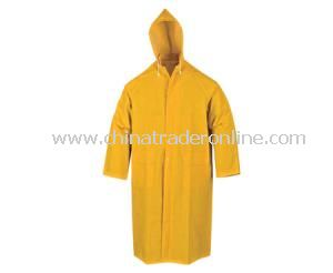 PVC/Polyester Rain Coat from China