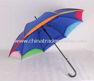 Straight Rainshade Umbrella, Rainbow Advertising Promotional Umbrellas