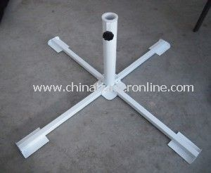 Steel Foldable Cross Umbrella Base