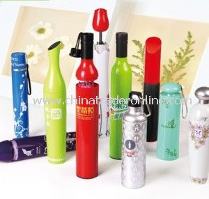 Advertising Umbrella with Various Bottle Pack