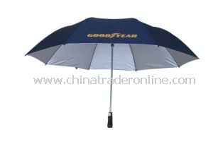 Auto Open 2 Fold Golf Umbrella Advertising Umbrella