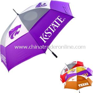 Automatic Windproof Brand Double Layer Golf Advertising Umbrella