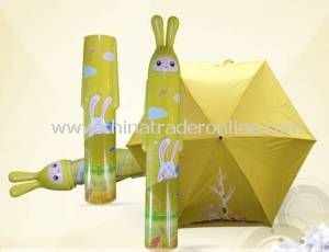 Cartoon Bottle Umbrella for Advertising