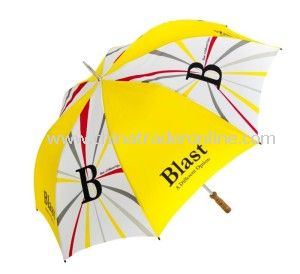 Hot Sale Manual Windproof Rainshade Outdoor Advertising Umbrella