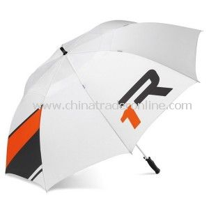 Newest White Nylon Outdoor Advertising Golf Umbrella