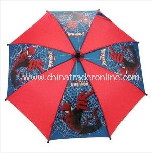 Safety Cartoon Printed Outdoor Advertising Children Umbrella