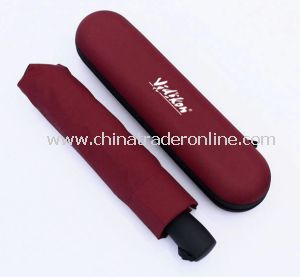 Wholesale Brand Box-Pack Advertising 3 Foldable Umbrella