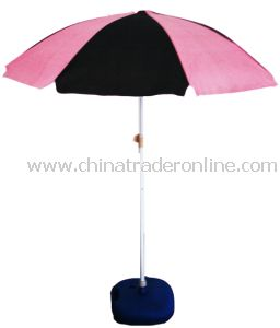 Fabric Beach Umbrella with Various Style Available, OEM Order Are Accepted from China